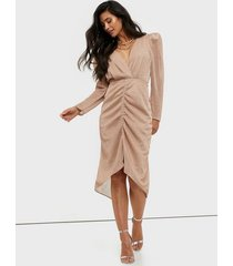 adoore ruched glitter dress fodralklänningar
