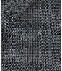 pantaloni da uomo su misura, reda, principe di galles grigio, quattro stagioni   lanieri
