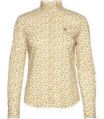 amalie liberty shirt långärmad skjorta gul morris lady