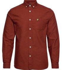 oxford shirt overhemd business rood lyle & scott