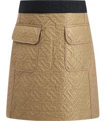 burberry beige skirt for girl