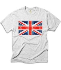 camiseta cool tees bandeira reino unido masculina - masculino