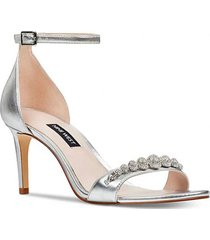 zapato allaboard plateado mujer nine west