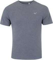 camiseta mizuno soul fit - masculina - cinza