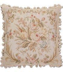 almofada aubusson flores 3 - 50 x 50