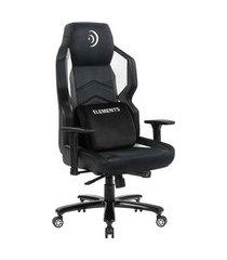 cadeira gamer reclinável magna aer elements gaming c/ almofada lombar