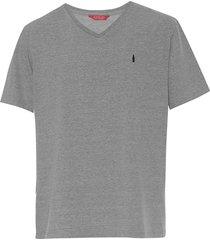 camiseta coca-cola jeans logo cinza - cinza - masculino - algodã£o - dafiti
