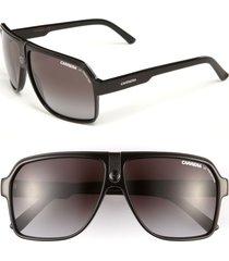 men's carrera eyewear 62mm aviator sunglasses - black