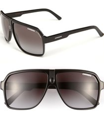 carrera eyewear 62mm aviator sunglasses in black at nordstrom