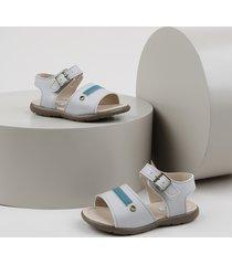 sandália papete infantil sonho de criança off white
