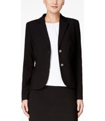 calvin klein two-button blazer