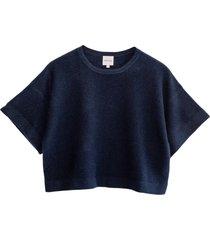 lilja short cashmere blouse