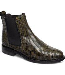 boots 7913 stövletter chelsea boot grön billi bi