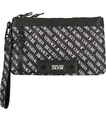 versace jeans couture nylon pouch