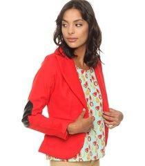 blazer rojo vespertine