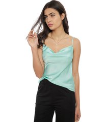 blusa eclipse esme menta - calce regular