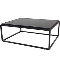 mesa de centro bord tp aluminio liso