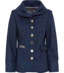 giacca con bottoni gioiello (blu) - rainbow
