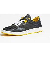 buty z kontrastującymi wstawkami model theo