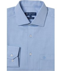 camisa dudalina manga longa fio tinto maquinetado masculina (cinza claro, 45)