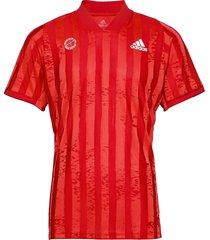 freelift tee engineered aerore t-shirts short-sleeved röd adidas performance