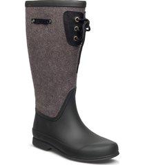 lisa lace wool regnstövlar skor svart tretorn