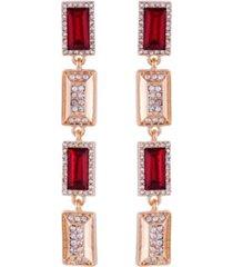 t tahari holiday sparkle linear earring