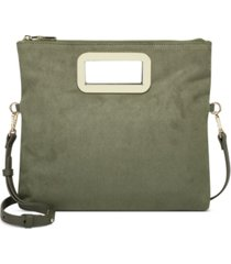 inc irisa open handle clutch crossbody, created for macy's