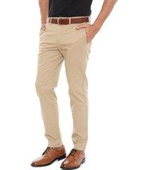 pantalon regular casual beige tommy hilfiger