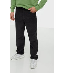 wood wood harold trousers byxor dark green