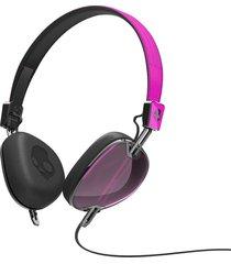 audífonos skullcandy navigator s5avfm-313 hot pink / black / mic 3