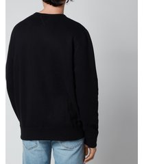 polo ralph lauren men's fleece sweatshirt - polo black - m