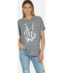 capri skeleton peace elements - xl heather grey