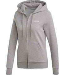 chaqueta gris adidas essentials