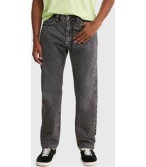 jeans levis 551z authentic straight swim shad negro - calce regular