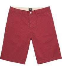 edwin bordeaux rail shorts i019508