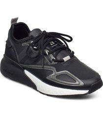 zx 2k boost w låga sneakers svart adidas originals