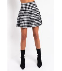 akira gianna knit mini skirt
