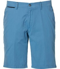 sale - jac hensen short - modern fit - blauw