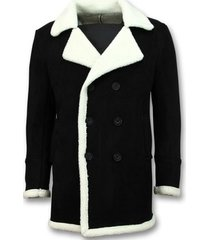 parka jas tony backer imitatie bontjas parka - lammy coat -