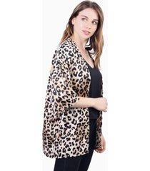 kimono leia animal print tiger jacinta tienda