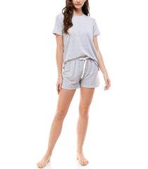 roudelain short sleeve pajama set
