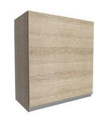 armário aéreo madesa glamy 60 cm 1 porta rustic/saara