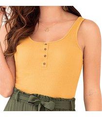 blusa dalya amarillo para mujer croydon