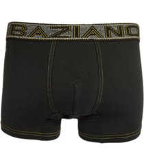 boxer algodón negro baziano