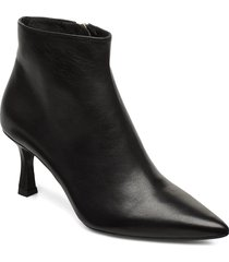 booties 3355 shoes boots ankle boots ankle boots with heel svart billi bi