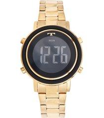 relógio technos bj3059ac/4p dourado