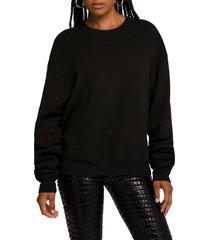 plus size women's good american boyfriend sweatshirt