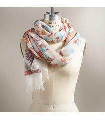 lively blossom scarf