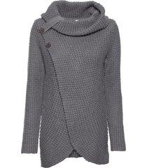 maglione con bottoni (grigio) - bodyflirt boutique